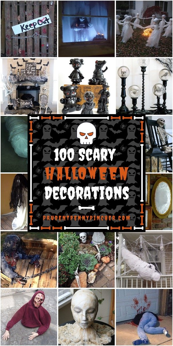 100 DIY Scary Halloween Decorations