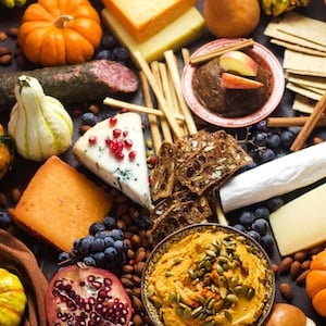 Ultimate Autumn Harvest Cheeseboard