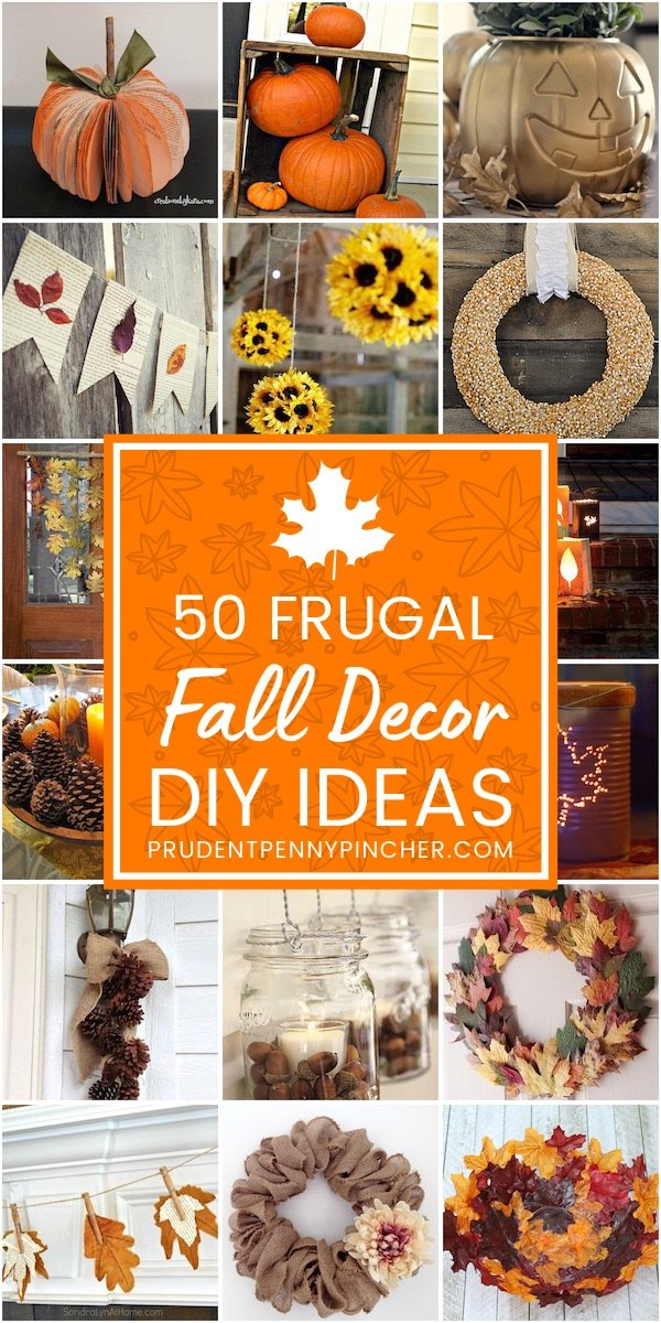 50 Frugal Fall Decor Ideas