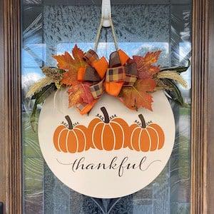 Thankful Door Hanger