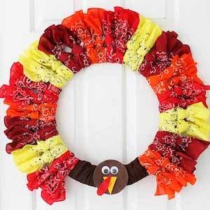 Bandana Turkey Wreath