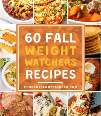 60 Weight Watchers Fall Recipes