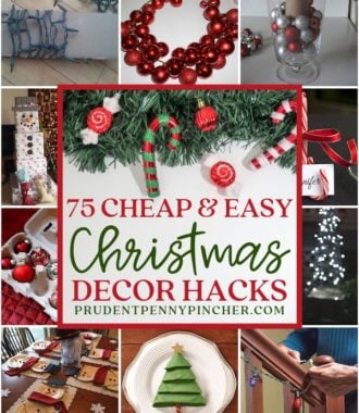 75 Cheap and Easy DIY Christmas Decor Hacks