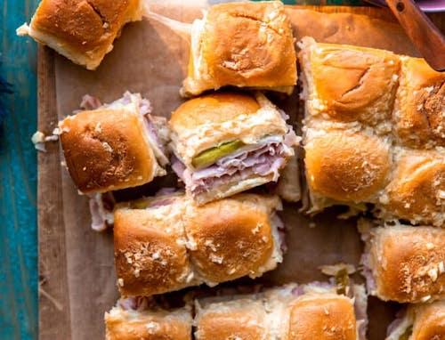 Cuban Slider sandwiches