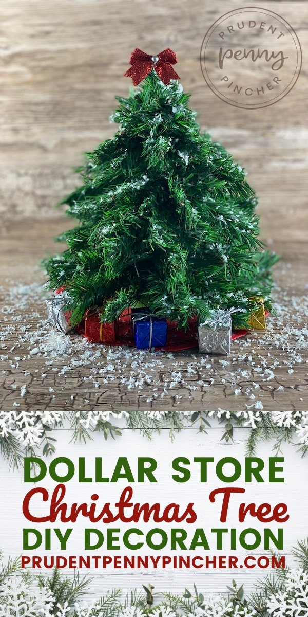 Dollar Store Diy Christmas Tree Prudent Penny Pincher