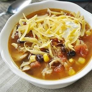 Fiesta Turkey Soup
