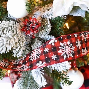 Buffalo Check Christmas Tree Decor.100 Diy Buffalo Check Christmas Decor Ideas Prudent Penny