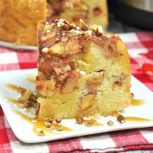 4 Layer Apple Cake instant pot thanksgiving dessert