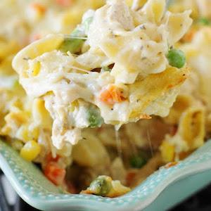 Leftover Turkey Noodle Casserole Recipe