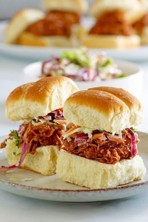 Carolina BBQ Pork Sliders