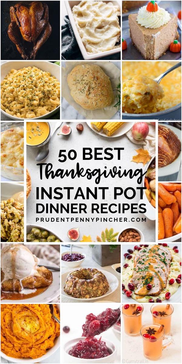 50 Best Thanksgiving Instant Pot Recipes