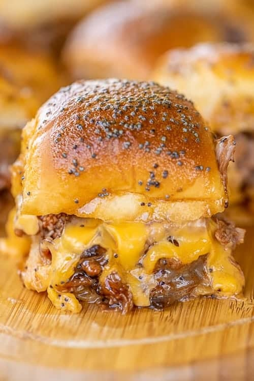 Beef and Cheddar Sliders