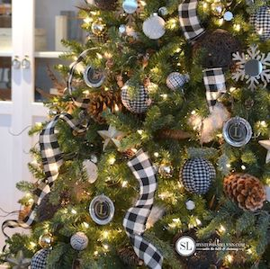 Buffalo Check Christmas Tree Ideas.100 Diy Buffalo Check Christmas Decor Ideas Prudent Penny