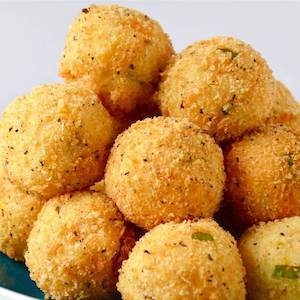 Cheesy Turkey and Mashed Potato Bites