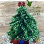Dollar Store DIY Christmas Tree