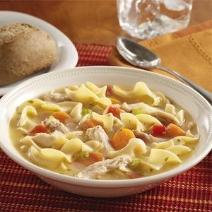 leftover Turkey Noodle Soup