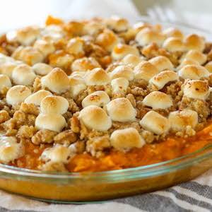Sweet Potato Casserole thanksgiving instant pot recipe