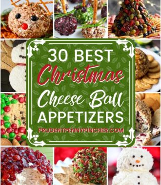 30 Festive Christmas Cheese Ball Appetizers