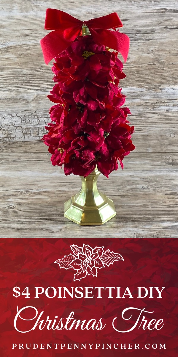 Poinsettia DIY Christmas Tree