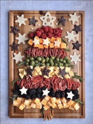 Christmas CharcuterTREE appetizer