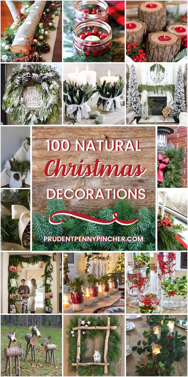 100 Natural Christmas Decorations