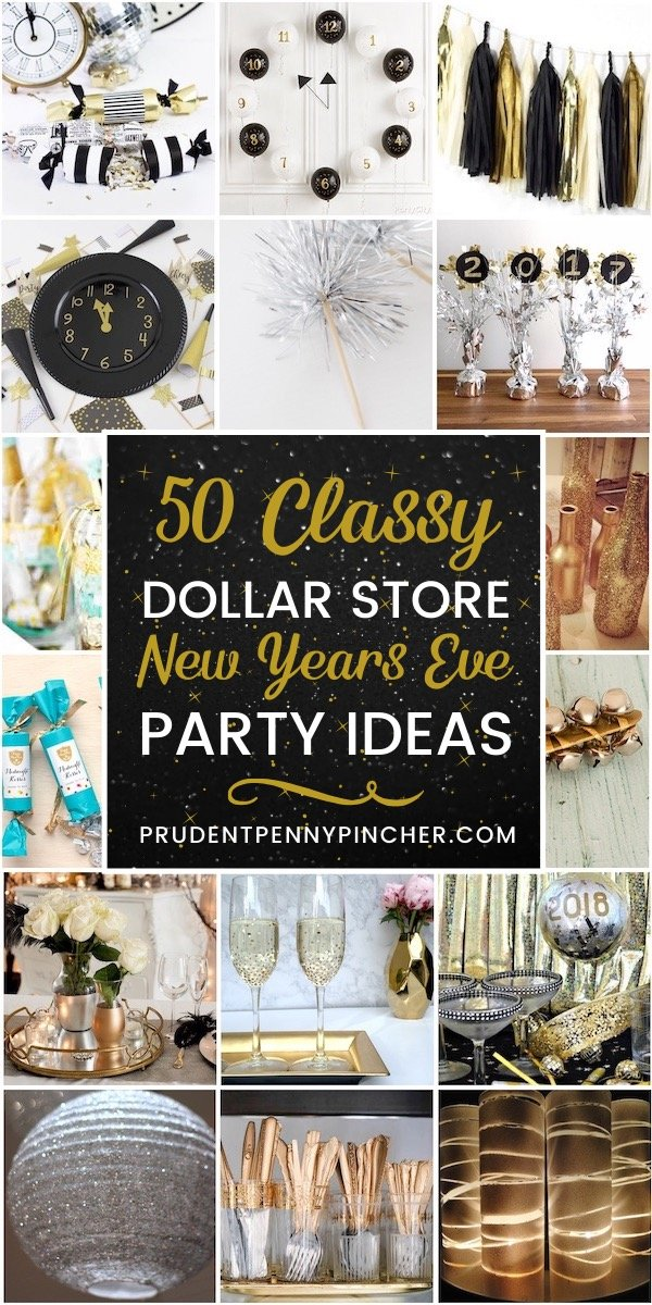 50 Dollar Store New Years Eve Party Ideas