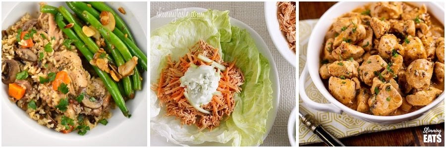 weight watchers chicken dinner recipes for the instant pot