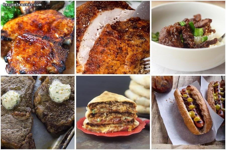 best pork, turkey, and beef air fryer recipes