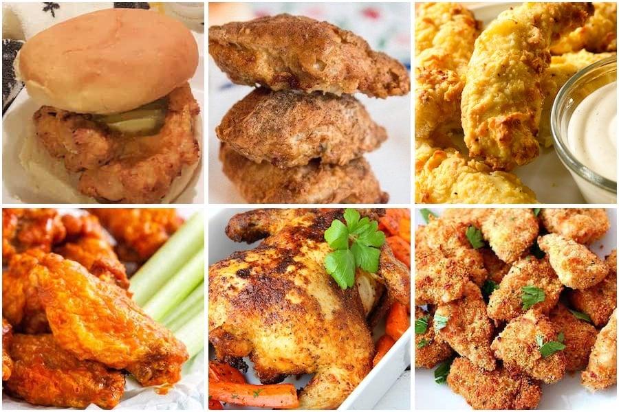 best air fryer chicken recipes