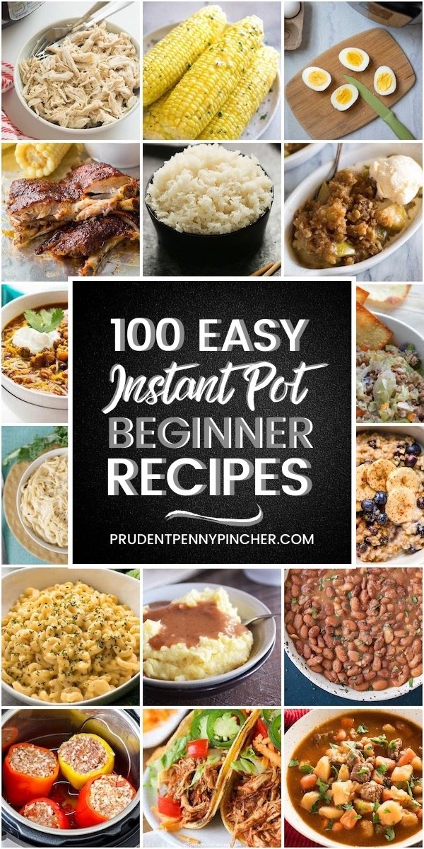 100 Easy Instant Pot Recipes for Beginners