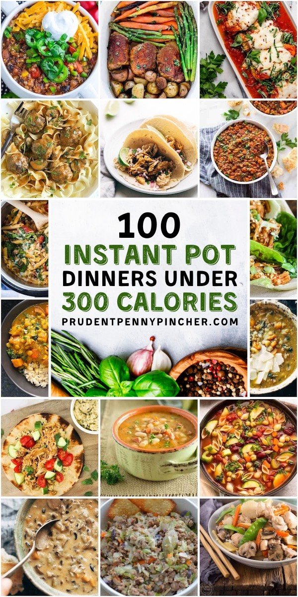 100 Instant Pot Recipes Under 300 Calories