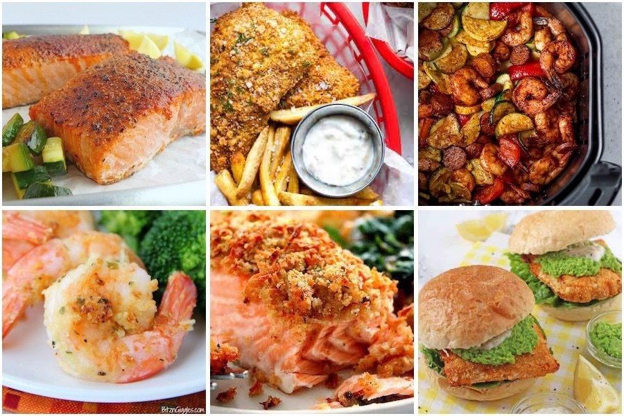 seafood and meatless recipes