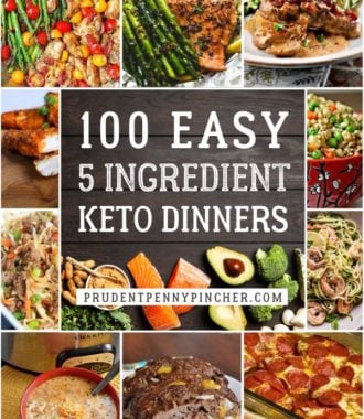 100 Easy 5 Ingredient Keto Dinner Recipes