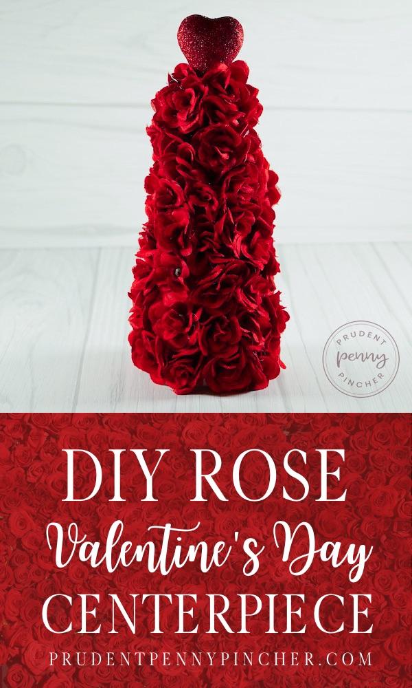 DIY Rose Valentine's Day Tree