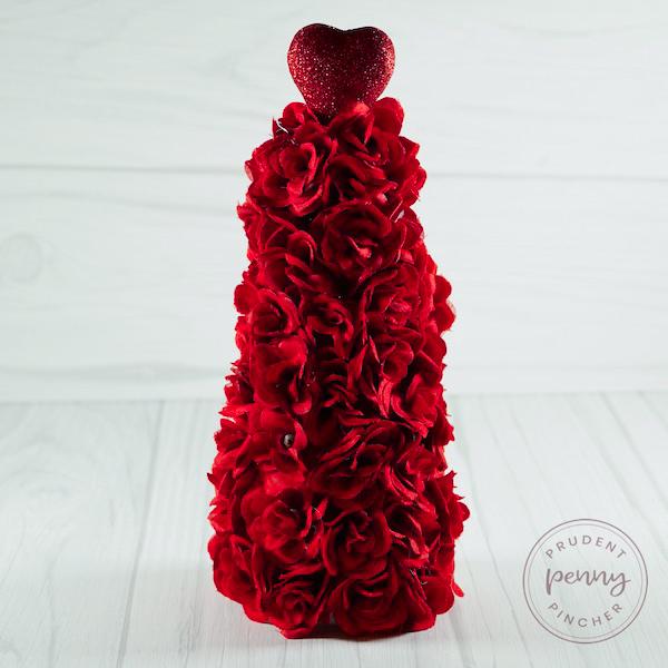 Rose DIY Valentine's Day Tree