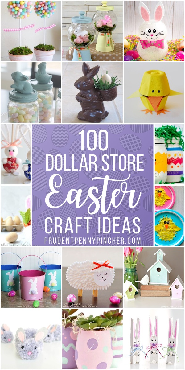 100 Dollar Store Easter Crafts