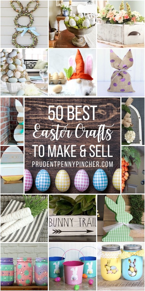 50 Best Easter Crafts to Make and Sell