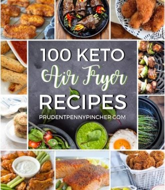 100 Low Carb and Keto Air Fryer Recipes