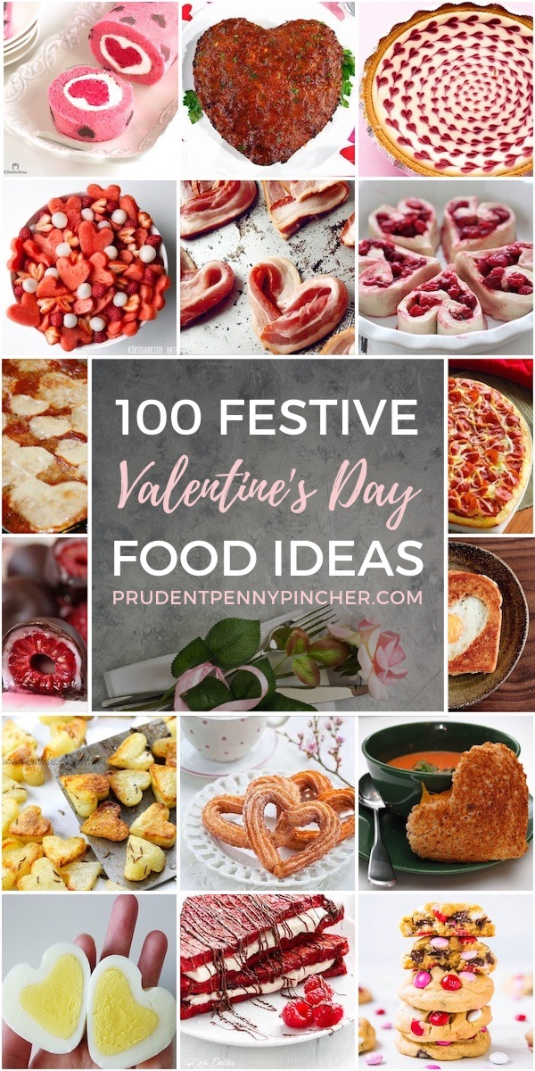 100 Festive Valentine's Day Foods