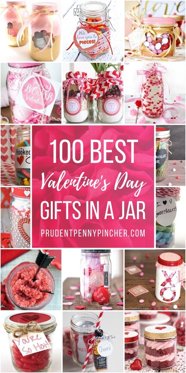 100 Best Valentine's Day Gifts in a Jar