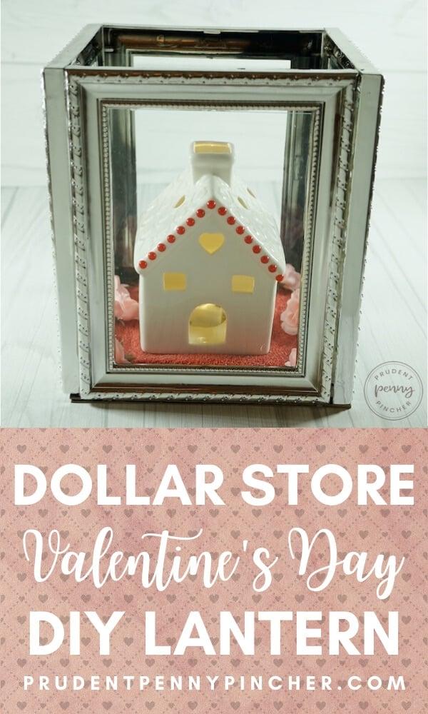 DIY Dollar Store Valentine's Day Lantern
