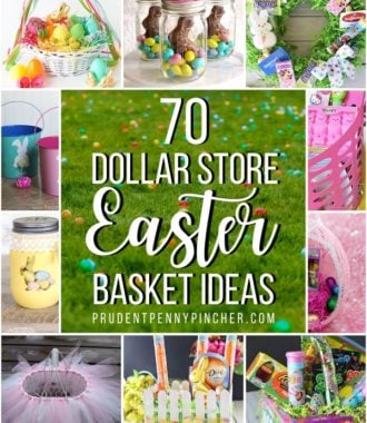 70 Dollar Store Easter Baskets