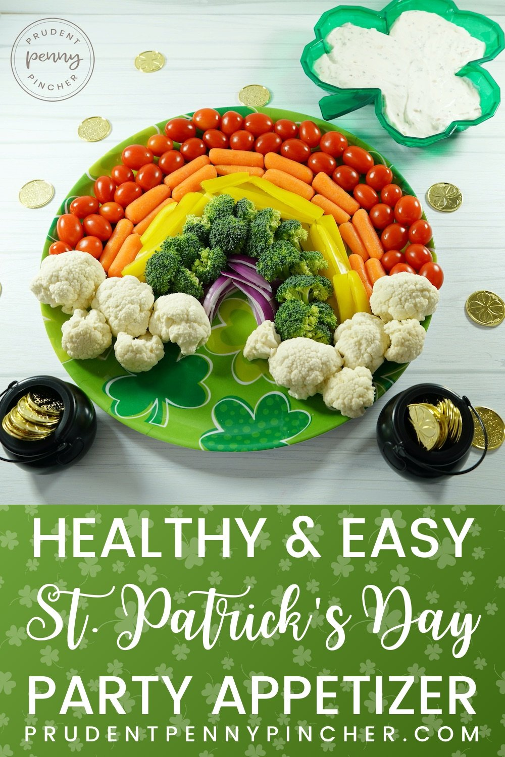 Easy and Healthy St Patrick's Day Party Appetizer