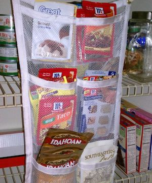 Mesh Pantry Organization for Packets