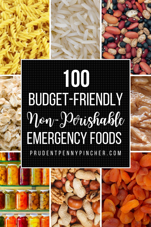 Budget Friendly Non Perishable Foods