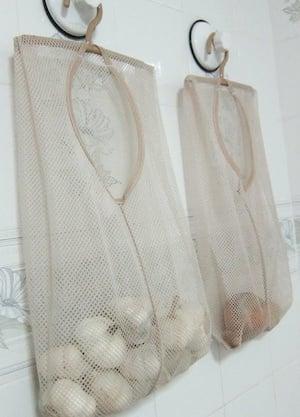 Produce Laundry Bag Storage