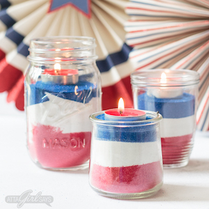40 Mason Jar 4th Of July Crafts Prudent Penny Pincher