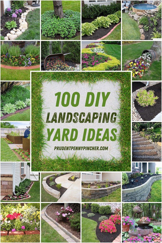 100 DIY Landscaping Ideas