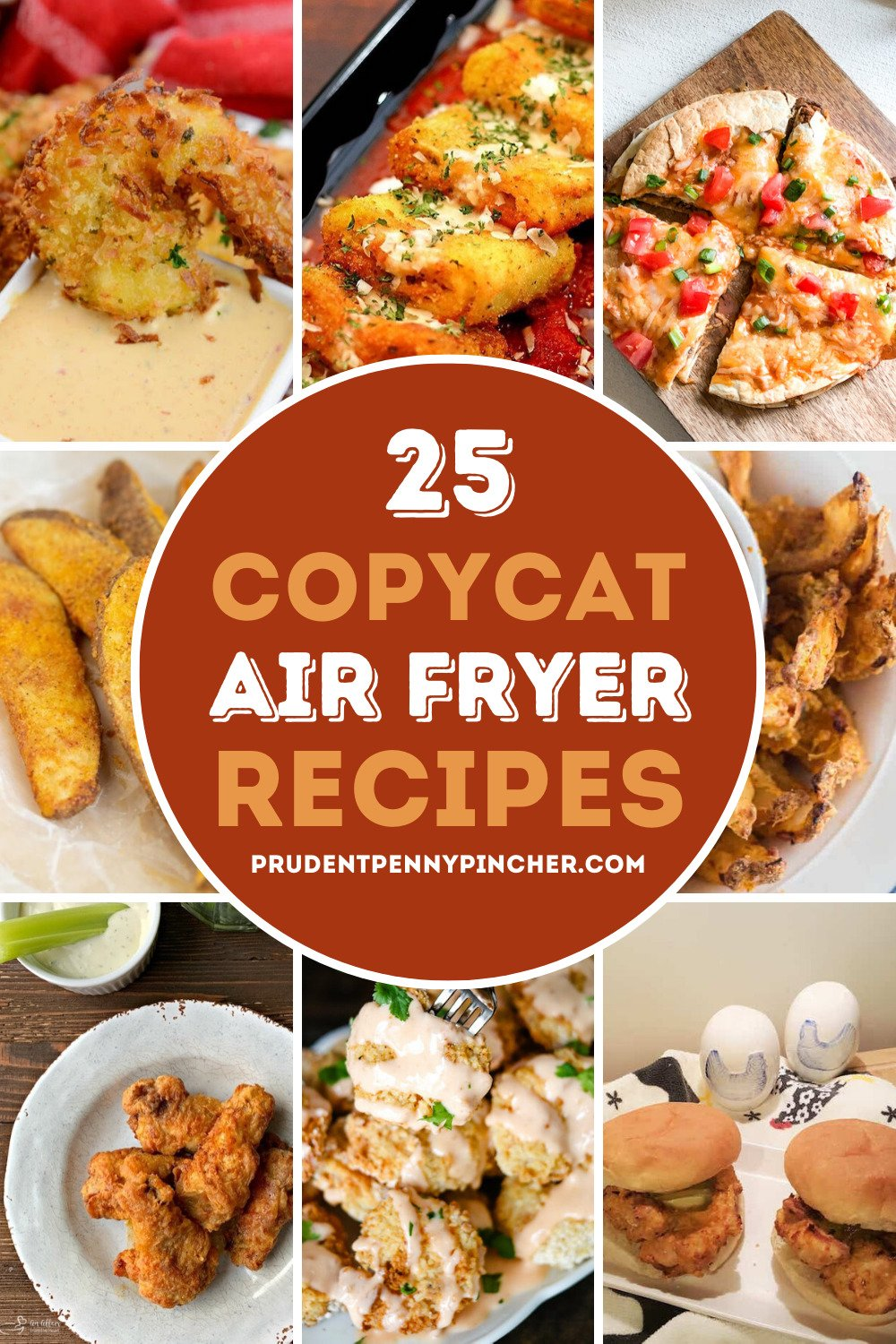 25 Copycat Air Fryer Recipes