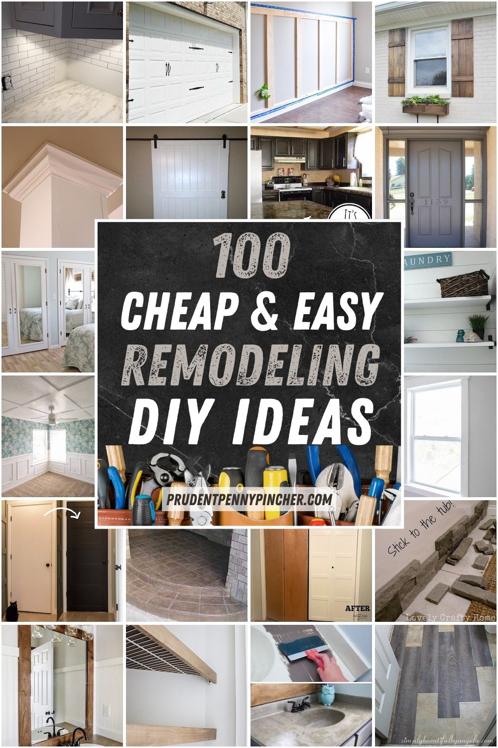 100 Diy Remodeling Ideas On A Budget Prudent Penny Pincher